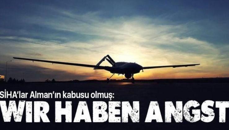 Alman basınında gündem SİHA'lar! Flaş itiraf geldi: Dağlık Karabağ'daki başarı Alman ordusunu önlem almaya zorladı!