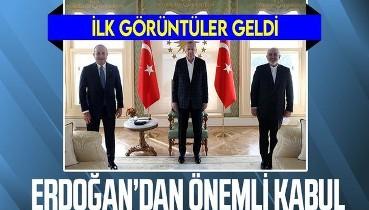 Cumhurbaşkanı Erdoğan'ın İran Dışişleri Bakanı Zarif'i kabulü başladı