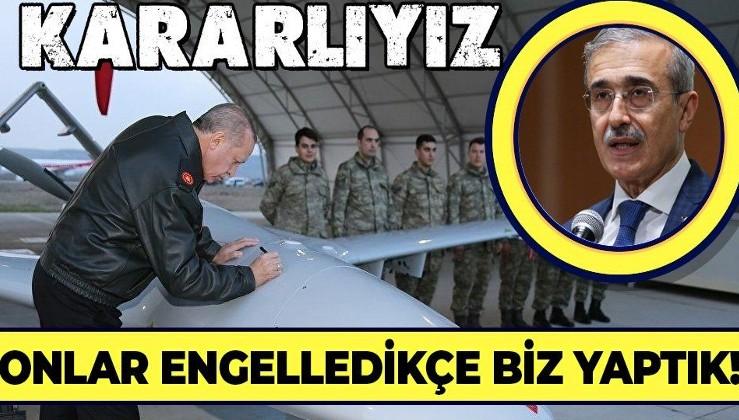 Onlar engelledikçe biz yaptık! ABD'nin skandal yaptırım kararı sonrası Savunma Sanayii Başkanı İsmail Demir konuştu