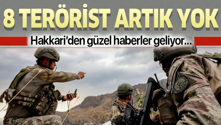 Son dakika: 8 PKK'lı terörist etkisiz hale getirildi