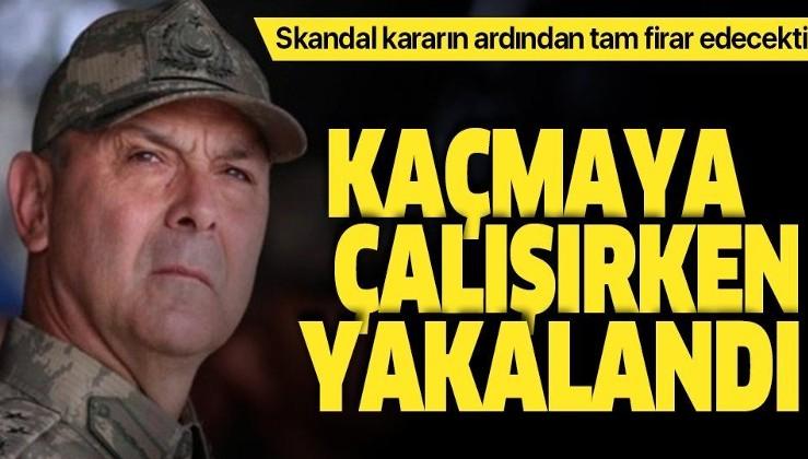 Son dakika: Eski Korgeneral Metin İyidil kaçmaya çalışırken gözaltına alındı.