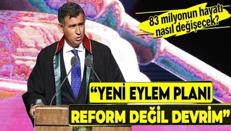 """TBB Başkanı Metin Feyzioğlu İnsan Hakları Eylem Planı'nı değerlendirdi: """"Reform değil devrim"""""""