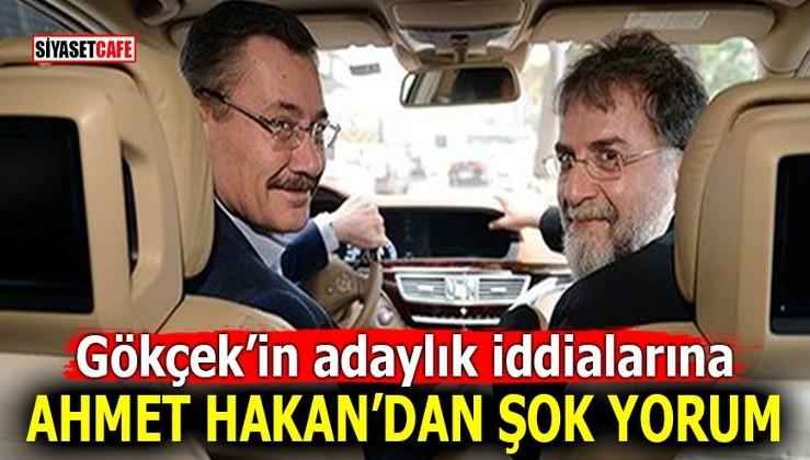 Gökçek'in adaylık iddialarına Ahmet Hakan'dan şok yorum!