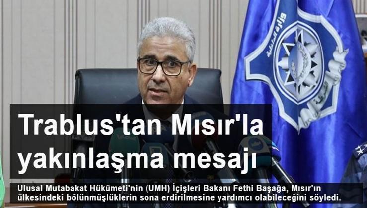 Libya İçişleri Bakanı'ndan Mısır ile yakınlaşma mesajı