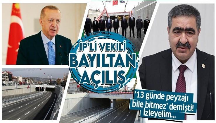 '13 günde peyzajı bile bitmez' diyen İYİ Parti Ankara Milletvekili Halil İbrahim Oral fena rezil oldu!