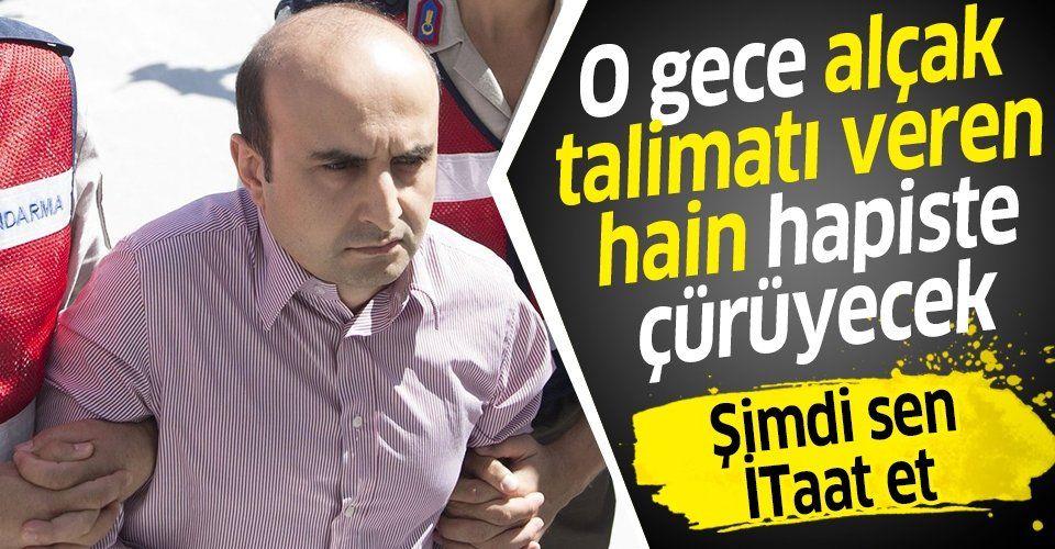SON DAKİKA: 15 Temmuz gecesi F-16'lara milletin bombalanması talimatlarını ileten FETÖ'cü Mustafa Mete Kaygusuz 79 kez ağırlaştırılmış müebbet hapis cezasına çarptırıldı