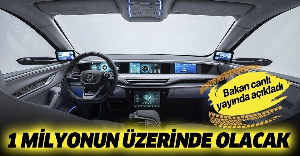 Son dakika: Bakan Dönmez: 2030'da Türkiye'de 1 milyonun üzerinde elektrikli otomobil olacağını öngörüyoruz.