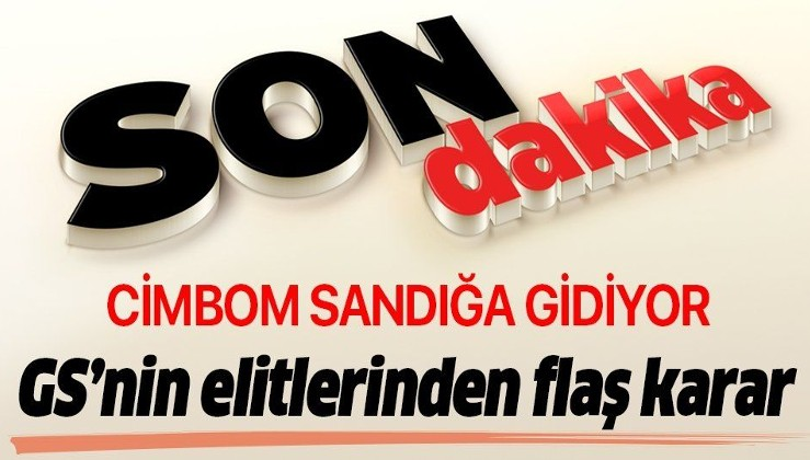 Son dakika: Galatasaray Kulübü Yönetim Kurulu sandığa gidiyor