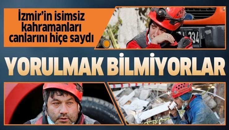 Gece gündüz demeden çalışıyorlar! İşte depremle mücadelenin isimsiz kahramanları