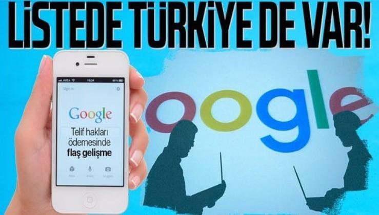 SON DAKİKA: Google'ın yayıncılara yapacağı telif hakları ödemesinde flaş gelişme: Listede Türkiye de var