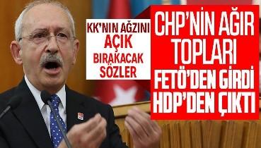CHP'nin ağır toplarından Kemal Kılıçdaroğlu'na zehir zemberek sözler