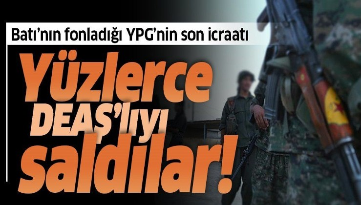 Son dakika: Terör örgütü YPG/PKK, DEAŞ'lıları serbest bırakmaya devam ediyor.