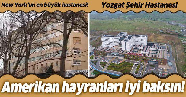 New York'un en büyük hastanesi Türkiye'nin Şehir hastanelerinin anca yarısı kadar!