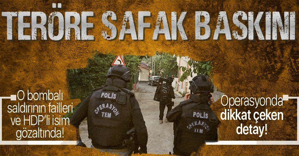 Son dakika: İstanbul'da PKK operasyonu! Beyoğlu İlçesi HDP Eş Başkanı Mehmet Sait Bor gözaltına alındı