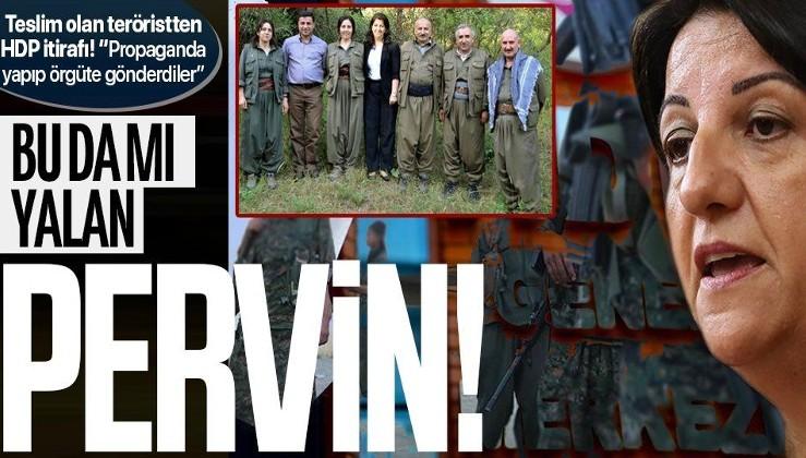 SON DAKİKA: Teslim olan teröristten HDP itirafı: PKK propagandası yapıp örgüte gönderdiler
