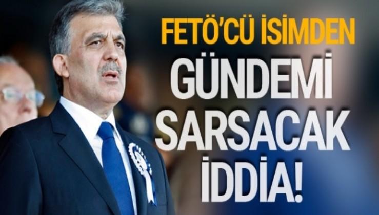 Abdullah Gül'den 'gizli ortak' iddialarına yanıt
