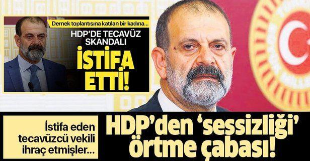 HDP'den 'tecavüz sessizliği'ni örtme çabası! İstifa eden Tuma Çelik'i ihraç etmişler!