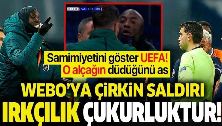 Şampiyonlar Ligi'nde ırkçılık skandalı! Başakşehir sahadan çekildi