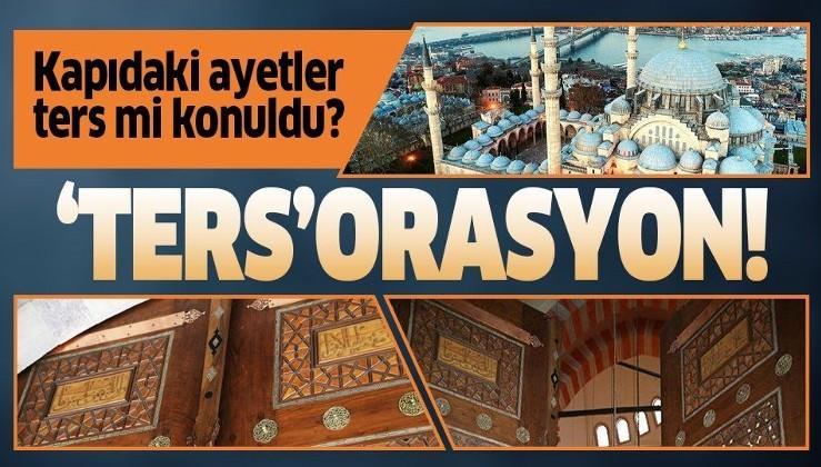 Süleymaniye Camisi'nde hatalı restorasyon!.