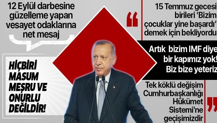 Erdoğan'dan ABD'ye gönderme: BİRİLERİ 'BİZİM ÇOCUKLAR YİNE BAŞARDI' DEMEK İÇİN BEKLİYORDU