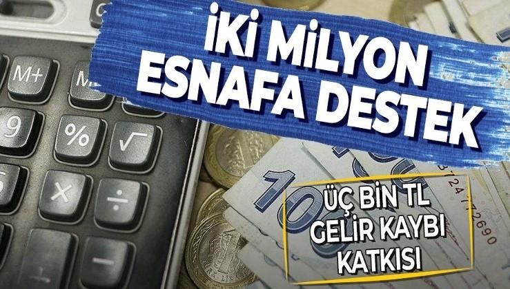 Esnafa kira ve gelir kaybı katkısına rekor başvuru! 1.000 lira gelir kaybı desteğine 1.3 milyonu aşkın başvuru