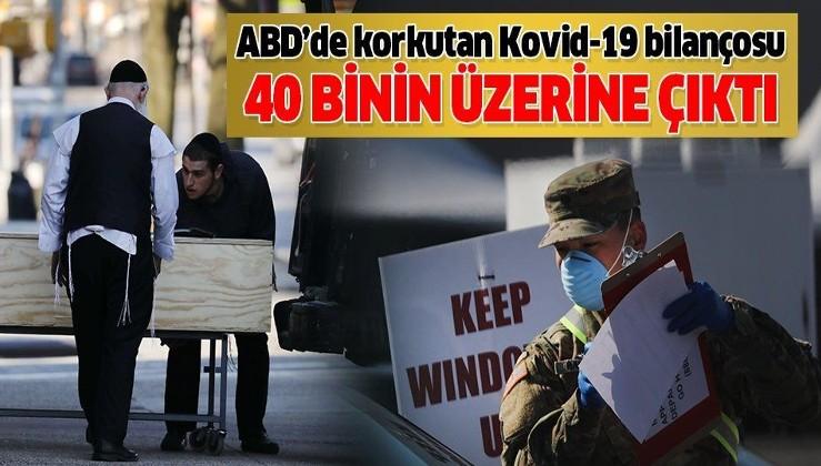 Son dakika: ABD'de Kovid-19'dan hayatını kaybedenlerin sayısı 40 bini aştı