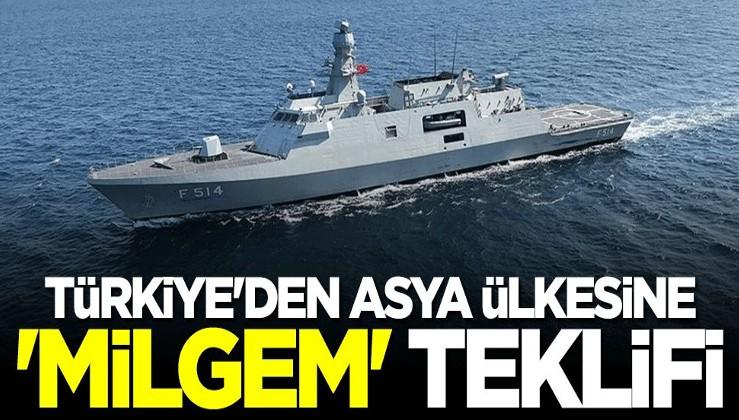 """Türkiye'den Filipinler'e """"MİLGEM Korveti"""" teklifi"""
