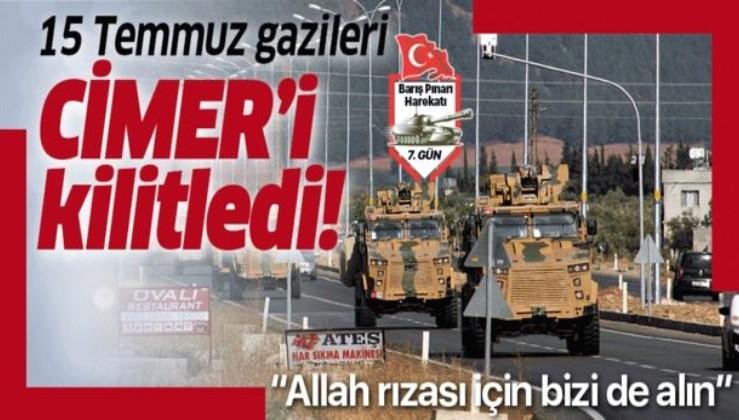 """15 Temmuz gazileri CİMER'i kilitledi: """"Allah rızası için bizi de alın!""""."""
