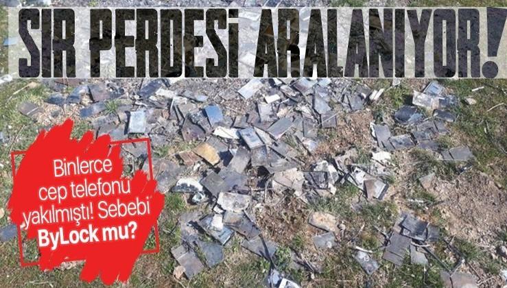 Kayseri'de yakılan binlerce cep telefonu hakkında flaş gelişme! Yakan kişi FETÖ'cü çıktı!