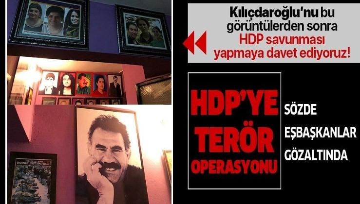 HDP il binasında örgütsel materyaller ele geçirildi! Sözde il eşbaşkanları Ömer Kulpu ve Fatma Ablay gözaltına alındı