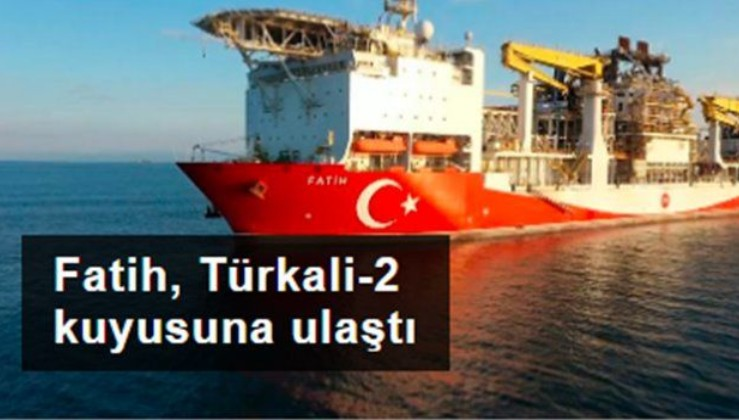 Karadeniz'in Fatih'i, Türkali-2 kuyusuna ulaştı