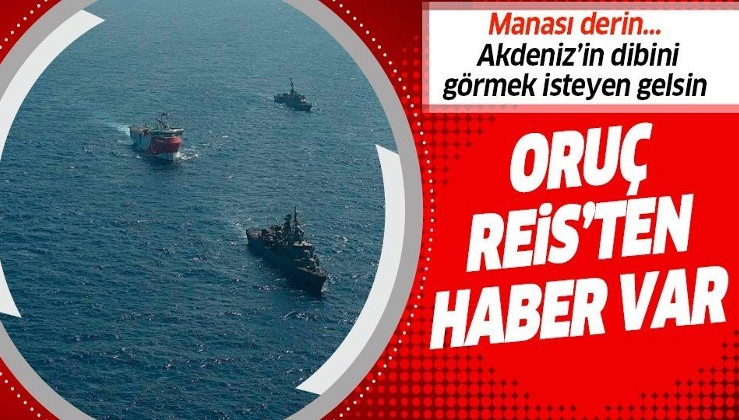 Millî Savunma Bakanlığı'ndan Oruç Reis duyurusu: Türk Deniz Kuvvetleri korumaya kararlılıkla ve aynı gemilerle devam etmektedir