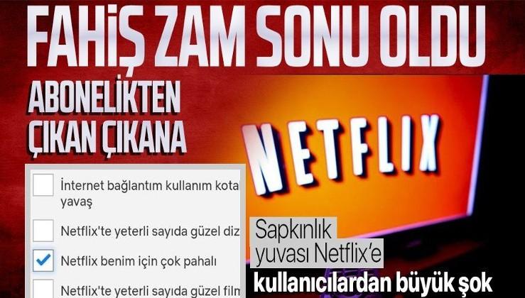 Sapkın ve eşcinsel içeriklerle tartışmaların odağındaydı... Netflix'in fahiş zammı kullanıcılarından tepki topladı!