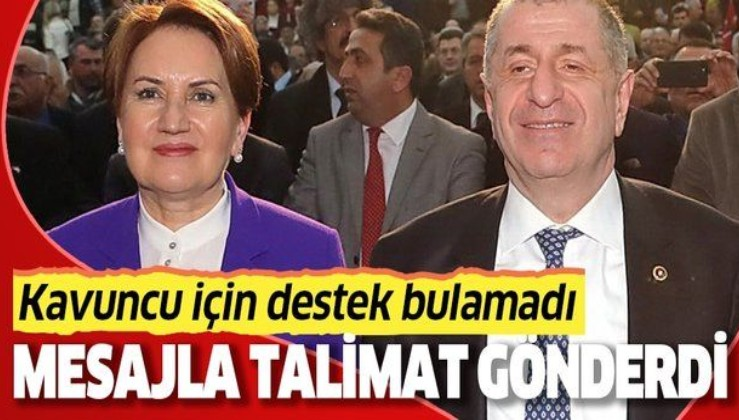 """Ümit Özdağ'ın FETÖ'cülükle suçladığı İYİ Parti İstanbul İl Başkanı Buğra Kavuncu için İstanbul'daki meclis üyelerine """"övün"""" talimatı gitti"""