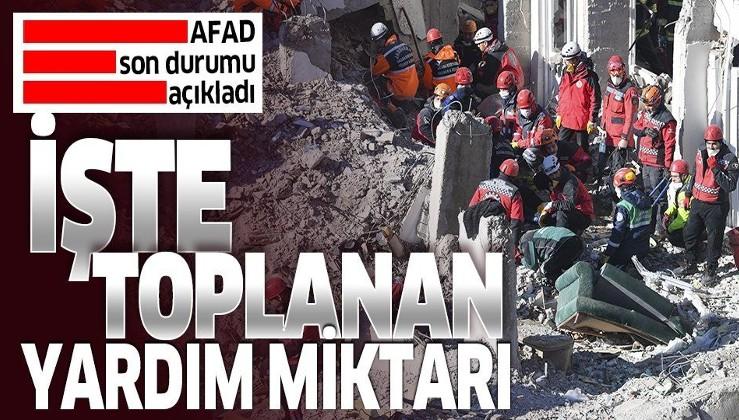 Son dakika: AFAD Elazığ ve Malatya depremi mağdurları için toplanan parayı açıkladı
