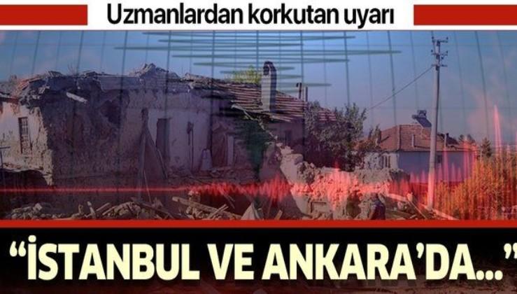 """Uzmanlar'dan korkutucu deprem uyarısı! """"İstanbul ve Ankara'da...""""."""