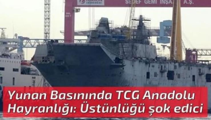 Yunan Basınında TCG Anadolu Hayranlığı: Üstünlüğü şok edici