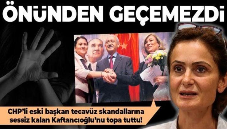 SON DAKİKA: CHP'deki taciz ve tecavüze sessiz kalan Kaftancıoğlu'na tepki: Baykal döneminde CHP'nin önünden bile geçemezdi