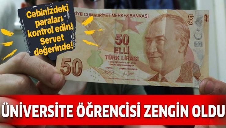 ATM'den çektiği 50 lira ile zengin oldu! Servet değerinde! Cebinizdeki paraları kontrol edin