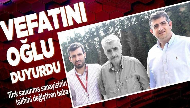 SON DAKİKA! BAYKAR Yönetim Kurulu Başkanı Özdemir Bayraktar hayatını kaybetti