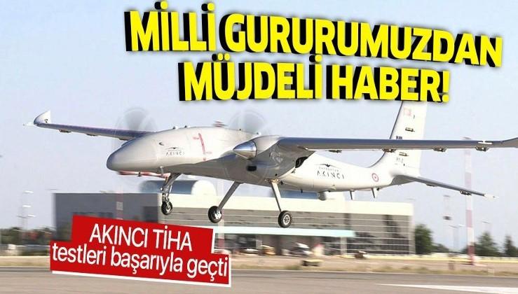 Bayraktar AKINCI TİHA'nın ikinci prototipi ilk uçuş testini başarıyla tamamladı