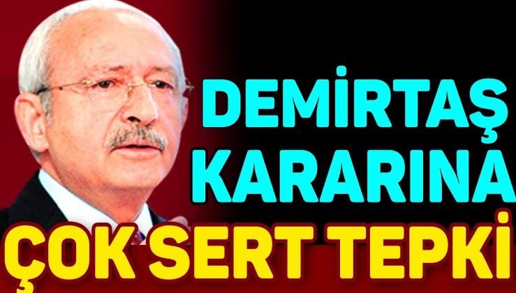 Kılıçdaroğlu: Demirtaş'ın tahliye edilmemesi bir hukuk faciasıdır