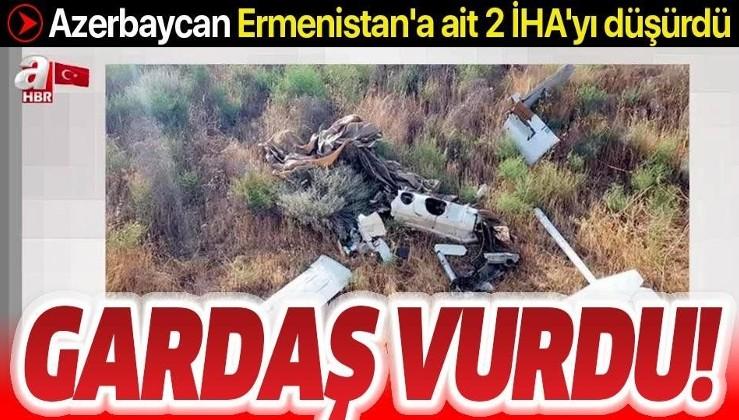 Gardaş vurdu! Azerbaycan Ermenistan'a ait 2 İHA'yı düşürdü