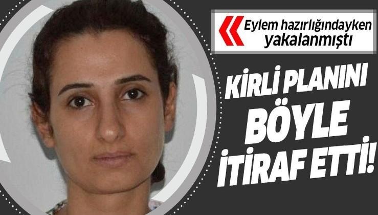 Adana'da eylem hazırlığındayken yakalanmıştı! Kirli planını itiraf etti!.