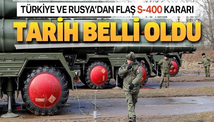 Son dakika: Türkiye ve Rusya'dan flaş S-400 kararı: Tarih belli oldu