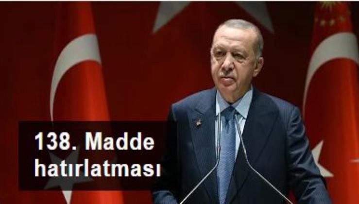 Cumhurbaşkanı Erdoğan'dan Bülent Arınç'ın sözlerine tepki