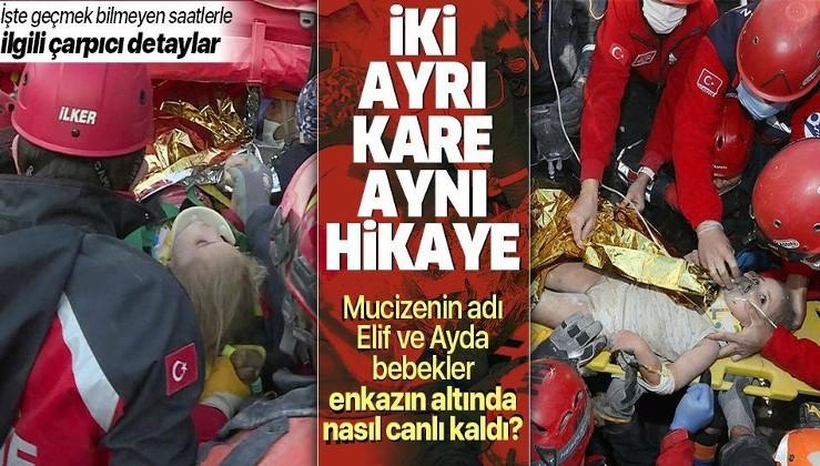 SON DAKİKA: Ayda Gezgin ve Elif Perinçek enkazın altında nasıl hayatta kaldı? İşte Türkiye'ye umut olan mucizelerin detayları...
