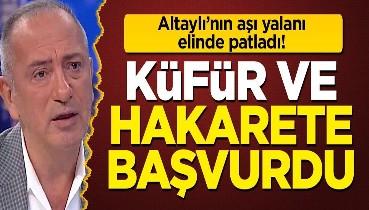 Fatih Altaylı'nın aşı yalanı elinde patladı: Yalanını ortaya çıkaranlara hakaret etti!