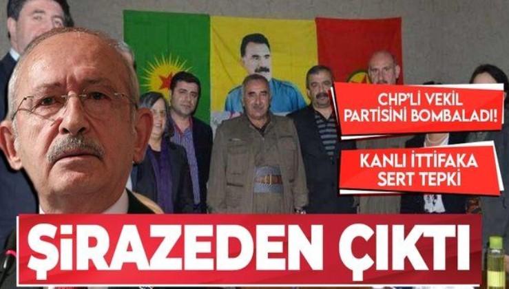 SON DAKİKA: CHP'li vekil partisinin kanlı ittifakını eleştirdi: HDP üzerinden gidilmesine karşıyız