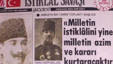 Tarihte Bugün: AMASYA GENELGESİ (22 HAZİRAN 1919)